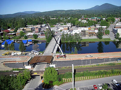 Photograph - 29 Through Downtown Sandpoint by Jerry Luther