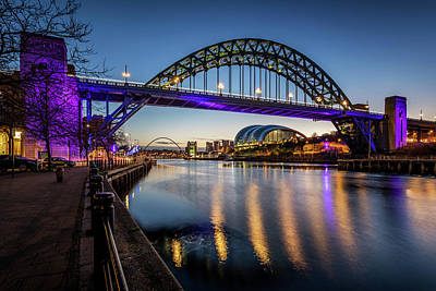 Photograph - Tyne Bridge by David Pringle