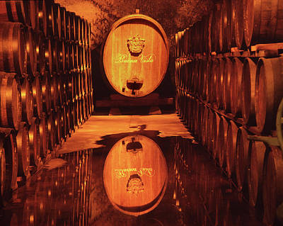 Photograph - 2b6344 Haraszthy Aging Cellars Reflect by Ed Cooper Photography