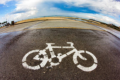 Photograph - 2d Bicycle by Mark Perelmuter