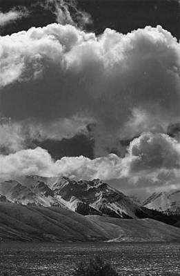 Photograph - 2d07518-bw Clouds Over Lost River Range V by Ed Cooper Photography