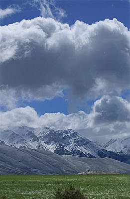 Photograph - 2d07518 Clouds Over Lost River Range V by Ed Cooper Photography
