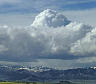 Photograph - 2d07521-dc Clouds Over Thousand Spring Valley by Ed Cooper Photography