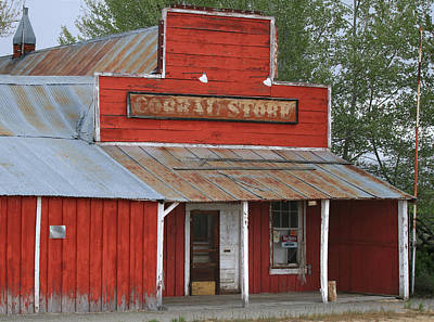 Photograph - 2d07805 Historic Coral Store by Ed Cooper Photography