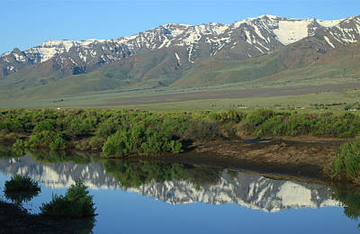Photograph - 2da5932 Steens Mountain Reflect 2 by Ed Cooper Photography