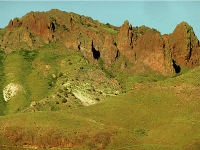 Photograph - 2da5942-dc Ramparts On Steens Mountain by Ed Cooper Photography