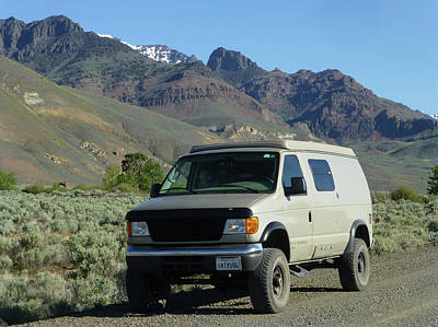 Photograph - 2da5944-dc Our Sportsmobile At Steens Mountain by Ed Cooper Photography