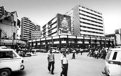 Photograph - Cms, Odunlami Street by Muyiwa OSIFUYE