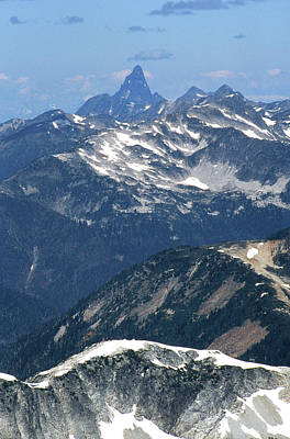 Photograph - 2m04207 Sleese Mtn From Mt. Challenger by Ed Cooper Photography