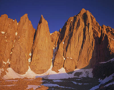 Photograph - 2m6420 Sunrise On Mt. Whitney by Ed Cooper Photography