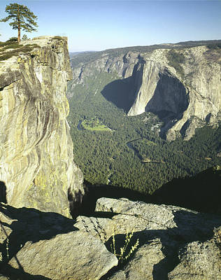 Photograph - 2m6507 Taft Point And Yosemite Valley by Ed Cooper Photography