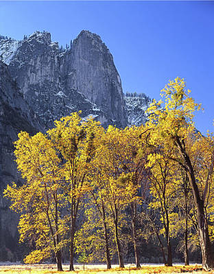 Photograph - 2m6705 Sentinel Rock In Autumn by Ed Cooper Photography
