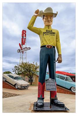 Photograph - 2nd Amendment Cowboy by Gary Warnimont