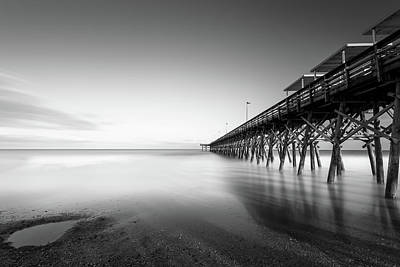 Myrtle Beach Photograph - 2nd Ave Pier Sunset by Ivo Kerssemakers