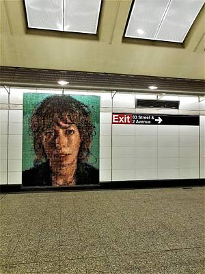 Photograph - 2nd Ave Subway Art Cecily Brown by Rob Hans