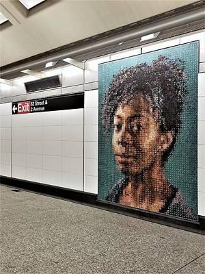 Photograph - 2nd Ave Subway Art Kara Walker 1 by Rob Hans