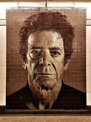 Photograph - 2nd Ave Subway Art Lou Reed by Rob Hans