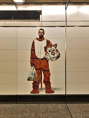 Photograph - 2nd Ave Subway Art Perfect Strangers7 by Rob Hans