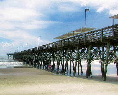 Photograph - 2nd Avenue Pier by Victor Montgomery