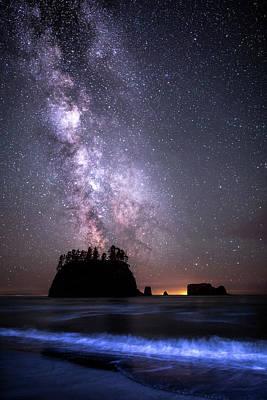 Photograph - 2nd Beach Milky Way by Matt Skinner