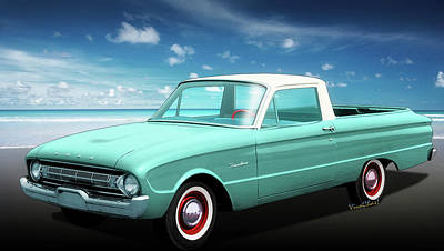Pickup Photograph - 2nd Generation Falcon Ranchero 1960 by Chas Sinklier