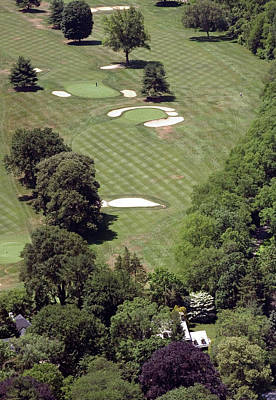 Philadelphia Cricket Club Golf Photograph - 2nd Hole Philadelphia Cricket Club St Martins Golf Course by Duncan Pearson