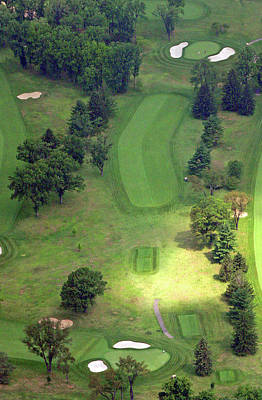 Photograph - 2nd Hole Sunnybrook Golf Club 398 Stenton Avenue Plymouth Meeting Pa 19462 1243 by Duncan Pearson