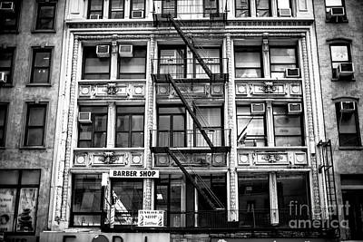 Photograph - 2nd Story Barber by John Rizzuto