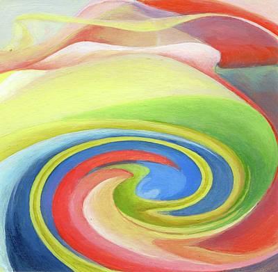 Painting - 2nd Tourbillon by Muriel Dolemieux
