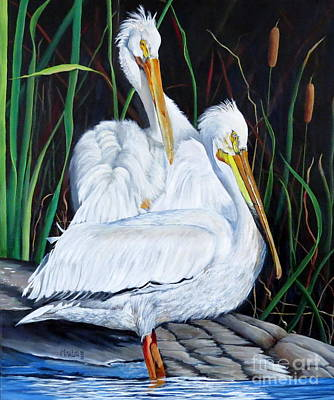 Painting - 2's Company by Marilyn McNish