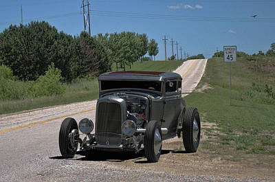 Photograph - 1931 Ford Coupe Hot Rod by Tim McCullough