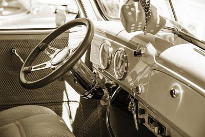 Photograph - 1939 Chevrolet Pickup Vintage Car Fine Art Prints Photograph Ant by M K Miller