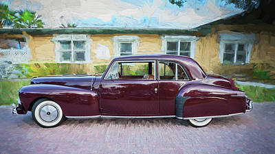 Photograph - 1947 Lincoln Continental by Rich Franco