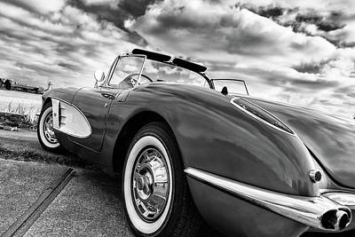 Photograph - 1959 Chevrolet Corvette by Wim Slootweg