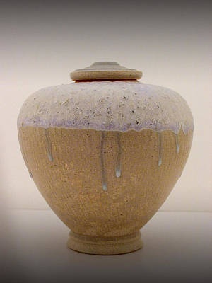 Wheelthrown Ceramic Art - jar by Alan Millican