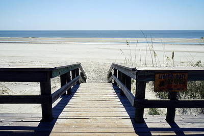 Photograph - Sapelo Island View by Laurie Perry