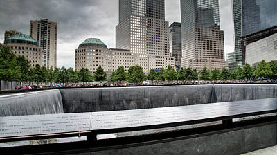 Photograph - 911 Memorial by Joe  Palermo