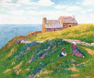 A Clear Day Art Print by Henri Moret