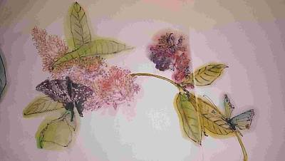 Painting - A Touch Of Fragrance Album  by Debbi Saccomanno Chan