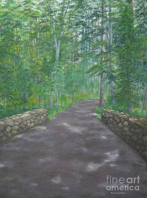 Painting - A Walk In The Woods by Michelle Welles