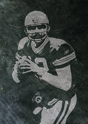 Photograph - Aaron Rodgers Packers by Joe Hamilton