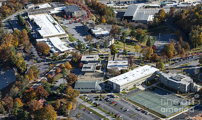Coman Photograph - Ab Tech - Asheville-buncombe Technical Community College  by David Oppenheimer