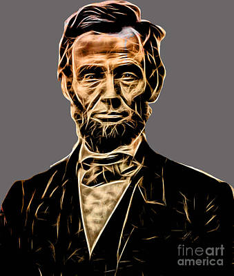 Abraham Lincoln Collection Art Print by Marvin Blaine