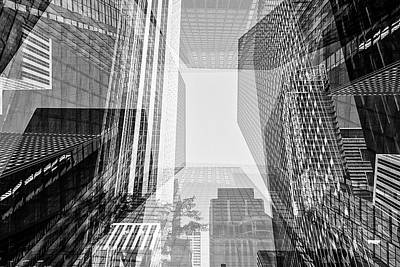 Abstract Architecture - Toronto Financial District Art Print