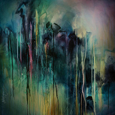 Drip Painting - Abstract  by Michael Lang