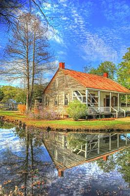 Photograph - Acadian Home by Ronald Olivier