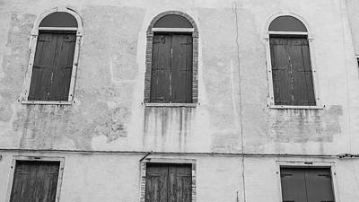 Photograph - 3 Across Venice Italy  by John McGraw