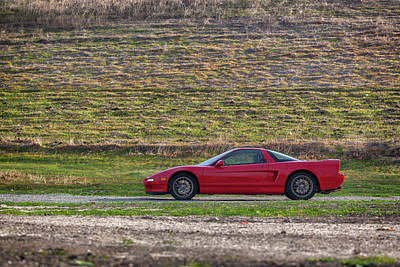 Photograph - #acura #nsx #print by ItzKirb Photography