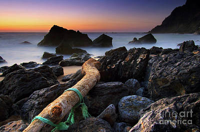 Unreal Photograph - Adraga Beach by Carlos Caetano