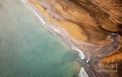 Photograph - Aerial Photo Iceland by Gunnar Orn Arnason